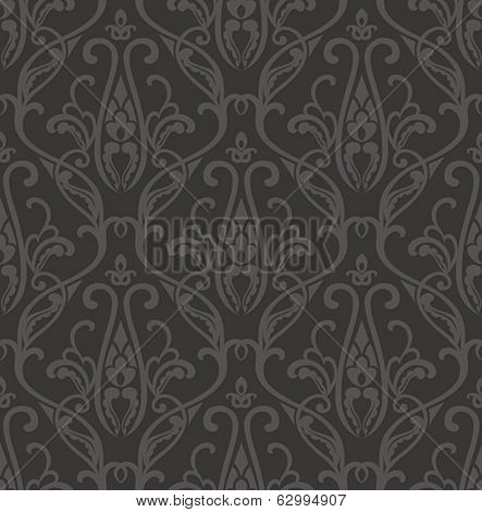 Seamless dark pattern. Vector illustration.