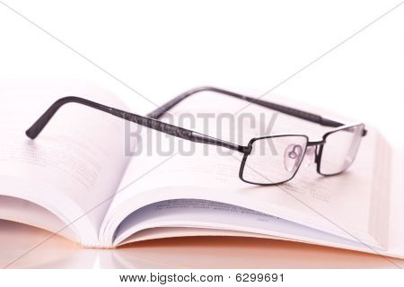 Glasses In A Book