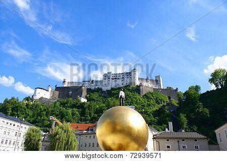 Historical Center in Salzburg