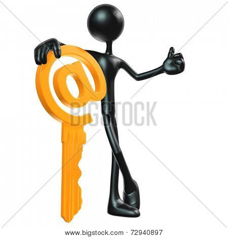 Email Key Concept