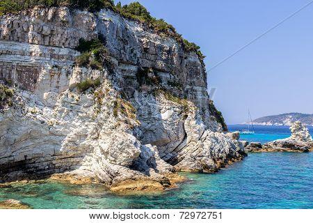 Greek cliff