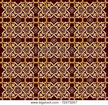 Seamless Pattern Background Five Version