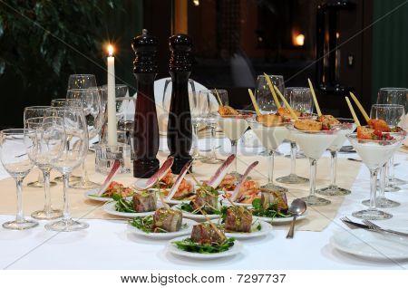 Luxury banquet