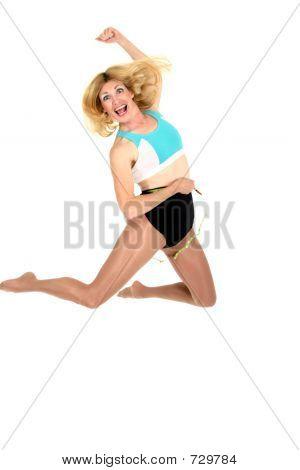 Jumping For Joy At Weight Loss 2