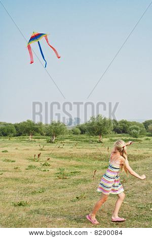 The Girl With A Kite