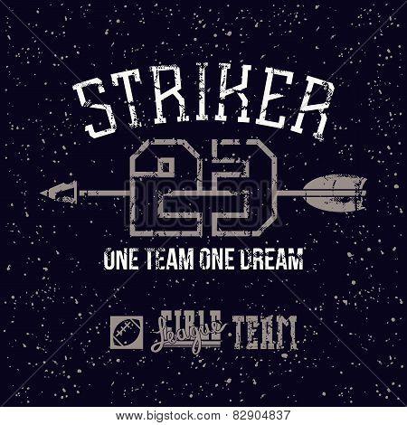 Sports Print Striker