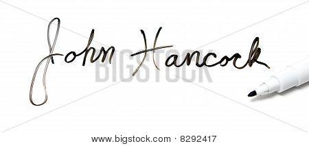 Give Me Your John Hancock