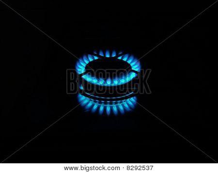 Flames Of the Kitchen burner