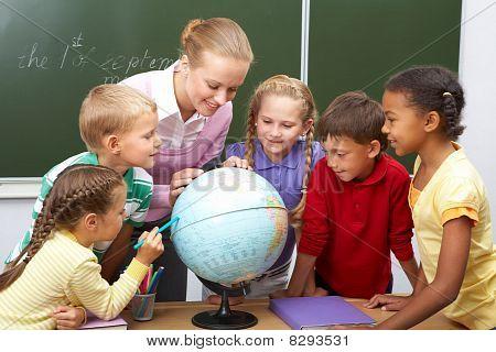 Lección de geografía