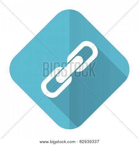 link flat icon chain sign