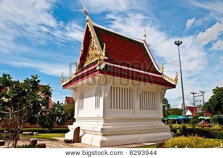 The Pavilion Of Temple