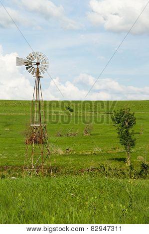 Kansas Windmill