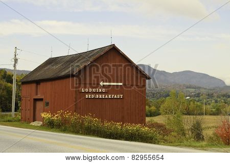 Rural farm house