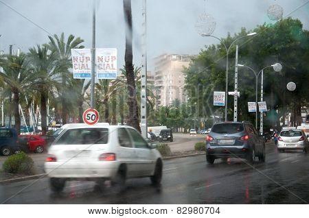 Traffic In November Rain