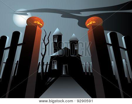 Hounted huis