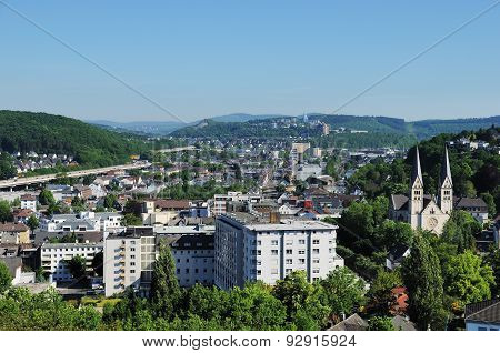 City Panorama From Siegen