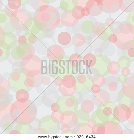 Abstract Vector Geometric Background With Circles.