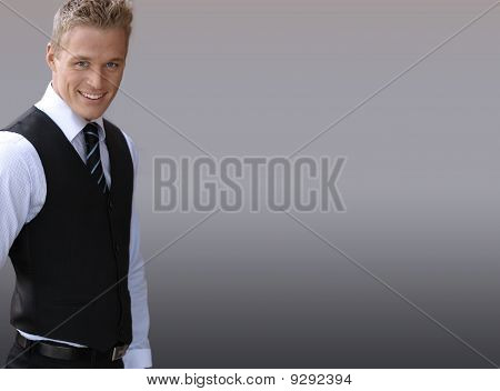 Smiling Businessman