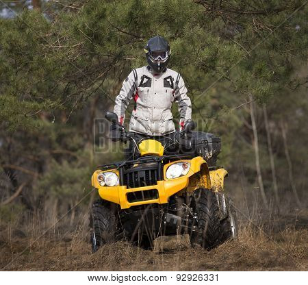 Curiously Atv 4X4 Rider