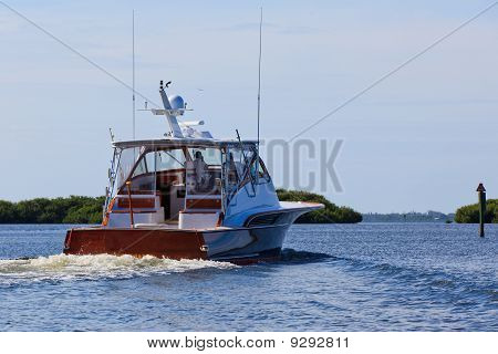 Yacht - Fishing Boat