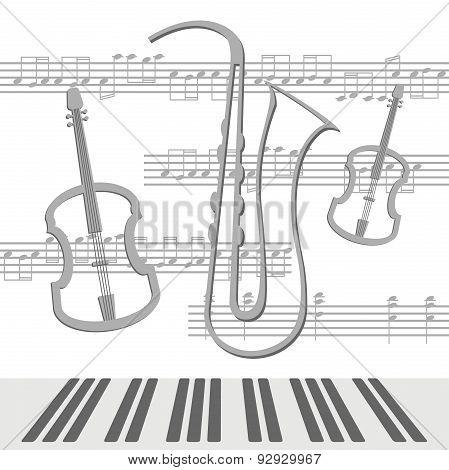 Notes viola