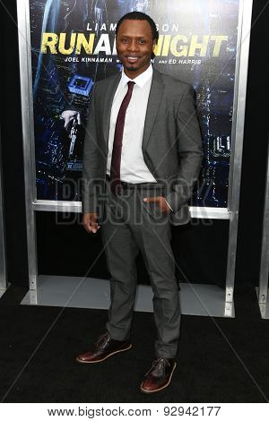 NEW YORK-MAR 9: Actor Malcolm Goodwin attends the premiere of