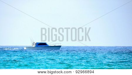 Fishing boat in the Gulf of Mexico