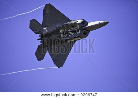 F-22 Raptor in flight
