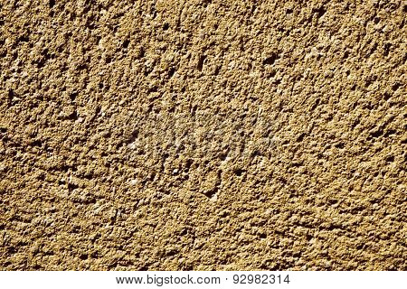 background made from a closeup of a rough limestone surface