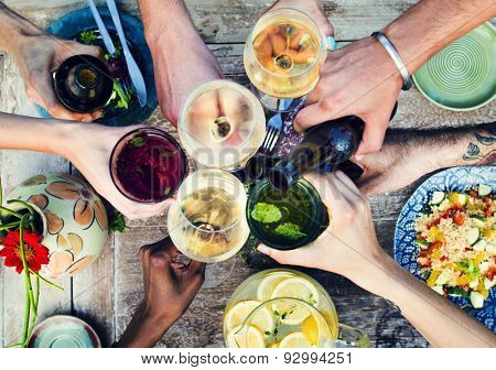 Food Beverage Party Meal Drink Concept