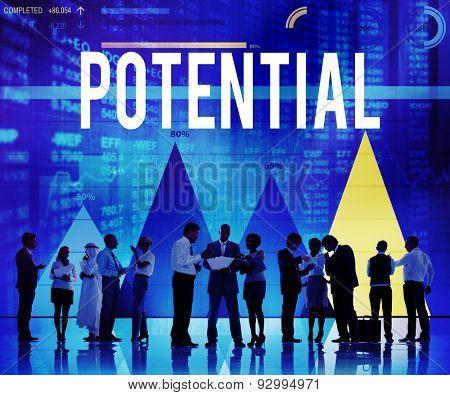 Potential Skill Ability Development Talent Concept poster
