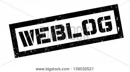 Weblog Rubber Stamp