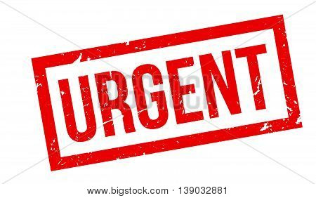Urgent Rubber Stamp