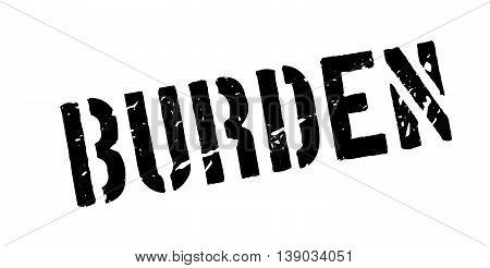 Burden Rubber Stamp