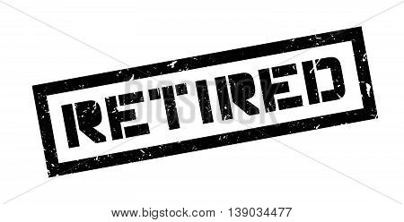 Retired Rubber Stamp