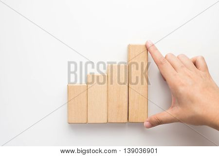 Hand Aranging Wood Block.