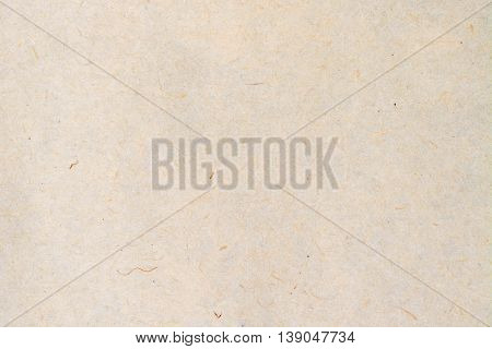 Old fibrous paper texture background, close up