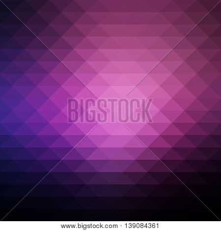 Abstract geometric background with light pattern. Backdrop color graphic abstract triangle background. Modern decoration shape triangle geometric abstract background with rhombus design.