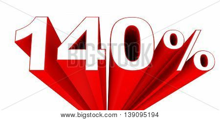 Discount 140 Percent Off Sale.