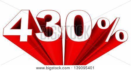 Discount 430 Percent Off Sale.
