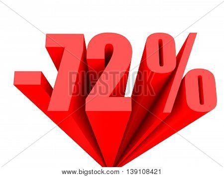 Discount 72 Percent Off Sale.