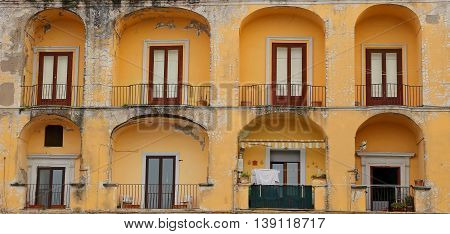 View of the old city - Gaeta Italy