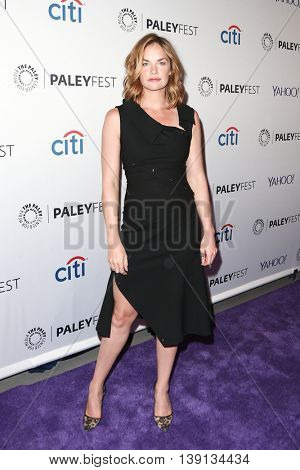 NEW YORK-OCT 12: Ruth Wilson attends 'The Affair' screening at PaleyFest New York 2015 at The Paley Center for Media on October 12, 2015 in New York City.