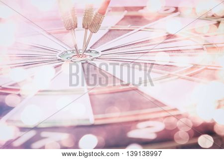 Target Dart With Target Arrows  And Dartboard Is The Target And Goal,abstract Background To Target M
