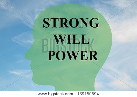 Strong Will Power Concept