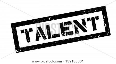 Talent Rubber Stamp