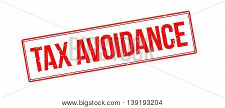 Tax Avoidance Rubber Stamp