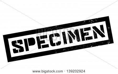 Specimen Rubber Stamp
