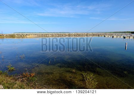 Lake Huron, Presque Isle, MI, USA