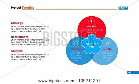 Venn Diagram Slide Vector Photo Free Trial Bigstock